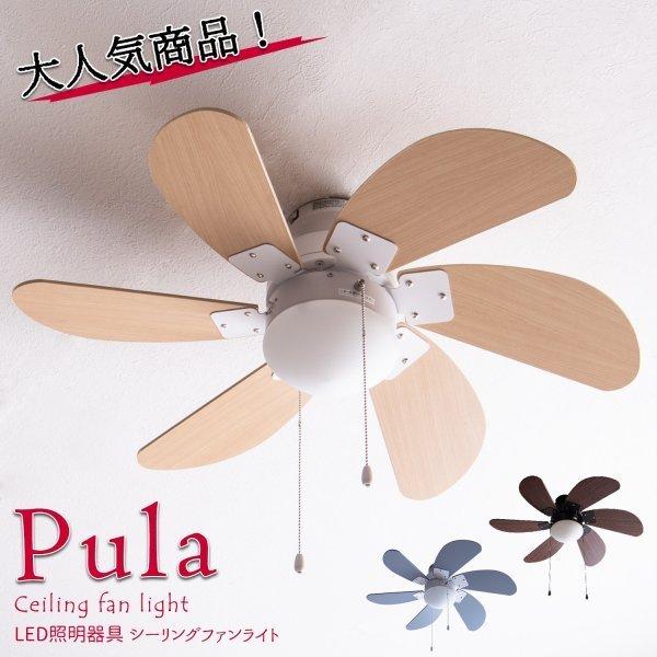 シーリングファンライト Pula (ピューラ)