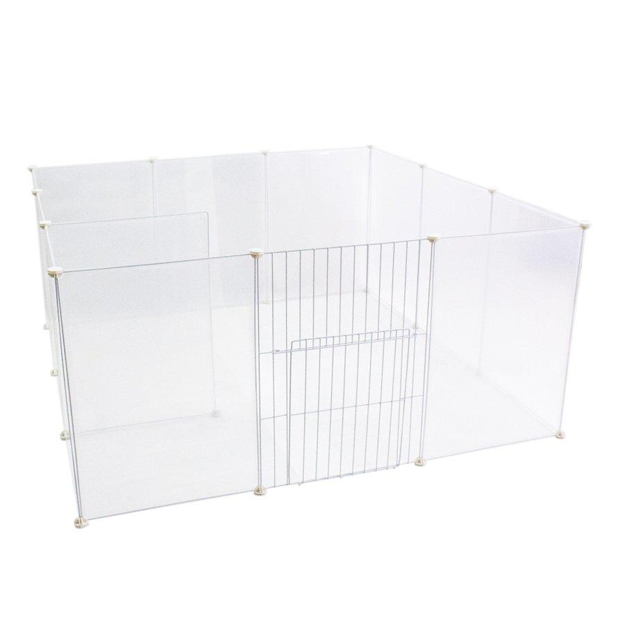 ペットフェンス ドア付 Clear Fence 50cm×70cm クリア